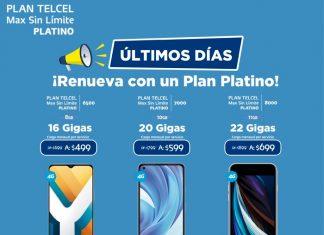 Con Telcel puedes estrenar a lo grande gracias a un Plan Platino y a la variedad de equipos que hay para ti. Vigencia al 20 de octubre de 2021.- Blog Hola Telcel