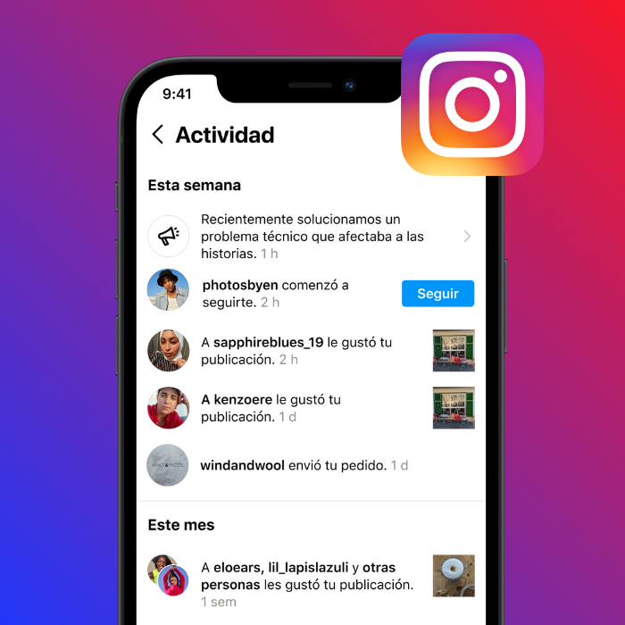 Nuevas notificaciones en Instagram avisarán fallas técnicas - Blog Hola Telcel