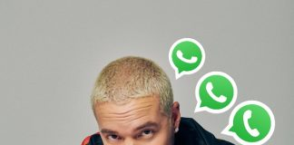 J Balvin compartió su número de WhatsApp, ¡esto pasa si le escribes!- Blog Hola Telcel