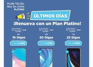 Un nuevo equipo Telcel puede ser completamente tuyo al renovar tu Plan Platino, una gran oportunidad que no se volverá a repetir. Vigencia al 13 de octubre de 2021.- Blog Hola Telcel